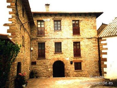 TURISMO VERDE HUESCA. Casa Martin de Binacua.